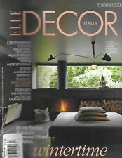 Elle Decor Magazine New Milan Hotel Norway Winter Log Cabin Junior Design 2011