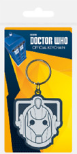 Doctor who cyberman rubber keyring