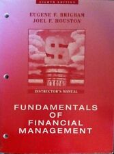 Fundamentals of Financial Management Instructor's Manual 8th Edition