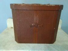 Vintage Dobbs 5th Ave Unusual Travel Hat Box Euc Free Shipping