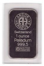 Palladium Barren 1  oz , Originalverschweißt ,