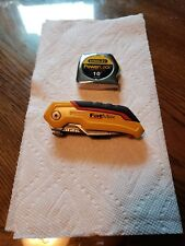 Stanley FatMax Pocket knife And Stanley 10' Tape Measure