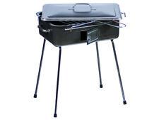 Barbecue e griglie da esterno portatile a carbonella con vassoio di raccolta