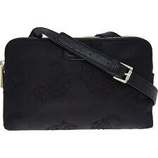 PAUL & JOE SISTER black cat print pattern handbag crossbody bag purse embroidery