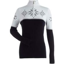 Nils Quinlan Ski Sweater - Women's - Large, Black/White/Silver