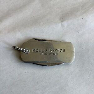 Rolls Royce Diesels Keyring
