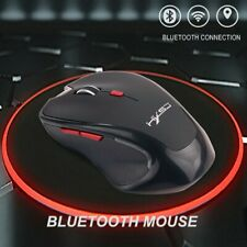 Bluetooth Wireless Mouse Computer Optical Mice for PC Mac Android OS Tablets PM