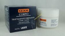 FANGHI ALGA GUAM CORPO Crema drenante 200ml gambe glutei cellulite cream