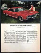 1966 Buick Wildcat Gran Sport Coupe photo For Young People of All Ages print ad