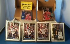 LOT OF 4 SHAQ ROOKIE CARDS+1992 TOPPS AND NBA HOOPS SERIES 2 SETS+91+92 JORDAN!