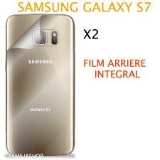 Lot 2 Films Protection arrière Entier Total Intégral Samsung Galaxy S7