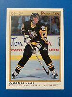 1990-91 Jaromir Jagr Rookie O-Pee-Chee Premier Hockey Card #50