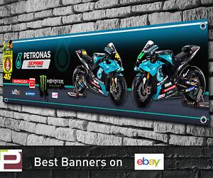 Petronas Yamaha SRT Moto GP Banner for Garage, Workshop, Valentino Rossi etc