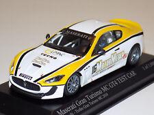 1/43 Minichamps Maserati Gran Turismo MC GT4 Test Car 2010 Necchi Lim to 1008 pc