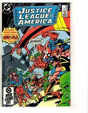 7 Justice League Of America Dc Comic Books # 238 239 240 241 242 243 244 J265
