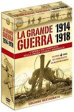 Prima Guerra Mondiale 1914-1918 Grande Cofanetto 3 DVD Alta Qualità Nuovo