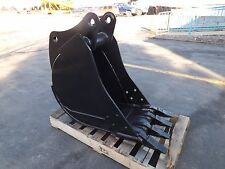 "New 18"" John Deere 310E Heavy Duty Backhoe Bucket with Coupler Pins"