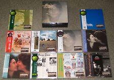 THE BEATLES Japan 10 x mini LP CD & maker PROMO box JOHN LENNON card sleeve OBI