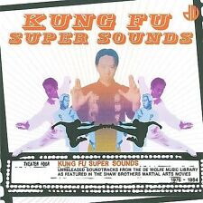 Kung Fu Super Sounds Various Artists CD Jul-2014 De Wolfe Shaw brothers Music