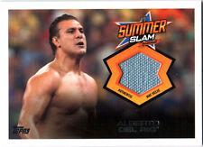 WWE Alberto Del Rio SummerSlam Event Used Mat Relic Card 2013 Triple Threat DWC3