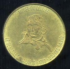 jeton TOTAL     ( musee du louvre ) LE GENERAL BONAPARTE 1797
