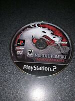 Mortal Kombat Deadly Alliance Sony PlayStation 2 2002 PS2 Game