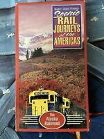 The Railroad Scenic Rail Journeys of the Americas Readers Digest VHS Alaska Rail