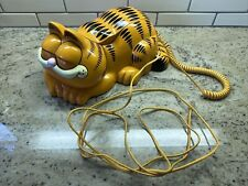 Garfield Phone Tested Ringer Works, Eyes Open & Close Tyco Model 1205