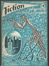 Fiction 78.Theodore Sturgeon, Robert Sheckley, Poul Anderson... SF53