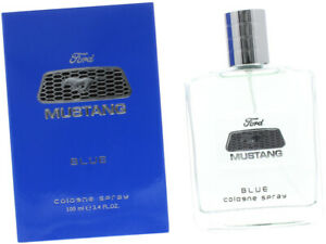 Mustang Blue Cologne 100ml Spray For Mens Fragrance With Gift Bag