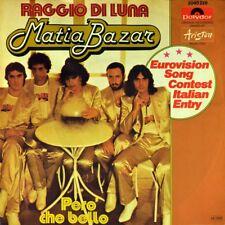 """7"""" MATIA BAZAR Raggio di Luna ANTONELLA RUGGIERO Grand Prix ESC POLYDOR 1978"""