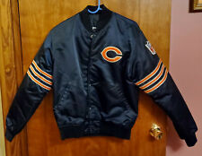 Vintage Chicago Bears Nfl Starter Jacket Satin Men's Size Medium, Excellent!
