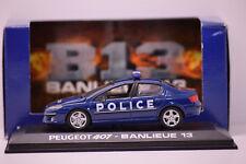 PEUGEOT 407 POLICE FILM BANLIEUE 13 NOREV 1/43 NEUVE EN BOITE PROMOTIONNELLE