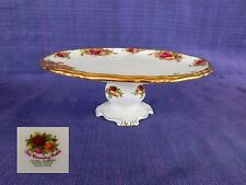 Royal Albert Old Country Roses FOOTED CAKE PLATE STAND  have more items to set