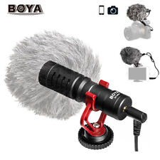 BOYA BY-MM1 Microphone Condensor for Nikon Canon DSLR Camera Camcorder NEW