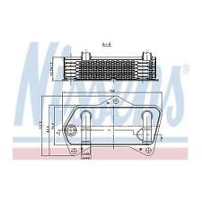 Fits VW Golf MK5 2.0 TDI 16V 4motion Nissens Automatic Gearbox Oil Cooler
