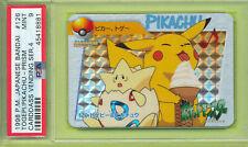 PSA 9 MINT PRISM TOGEPI PIKACHU 1999 JAPANESE BANDAI CARDDASS 126 POKEMON GRADED