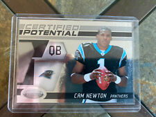CAM NEWTON rc ROOKIE 2011 11 Certified /999 Panini Card #7 Potential