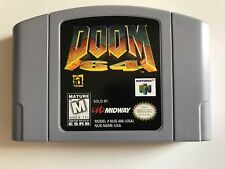 Doom 64 Nintendo 64 video game Designed for N64 Controller Pak 1 player Demons