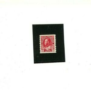 """CANADA STAMP # 127  MVLH  F-VF   """"King George V""""  1912 issue    Coil Single"""