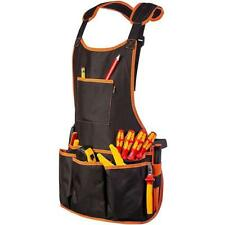 Waterproof Work Apron Chef Apron with Pockets Garden Tool Apron Coffee LH