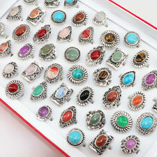 20pcs womens fashion party jewelry rings vintage stone Rings