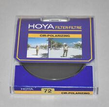 Genuine Hoya 72mm Cir PL filter