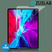 "For Apple iPad Pro 11"" 12.9"" 2nd 3rd 4th Gen Tempered Glass Screen Protector"
