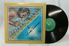 Fenton Robinson Autographed Signed Album Cover I Hear Some Blues Downstairs LP