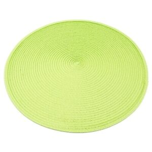Woven Spiral Non-Slip Table Placemats 15 Inches Round Set Of 4 Home Party Decor