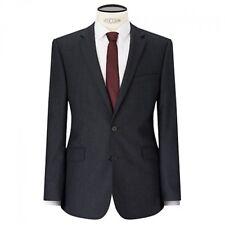 JOHN LEWIS - BNWT - KIN Lux Bowie Black Textured Wool Blend Jacket - 38S Slim