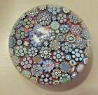 Rare+Peter+McDougall+Closepack+Millefiori+Catherine+Studio+Glass+Paperweight