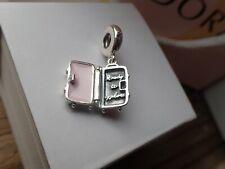 Authentic Pandora Suitcase Charm 797887en160 Opens