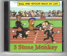 (HP933) 3 Stone Monkey, Egg & Spoon Race Of Life - 2016 CD